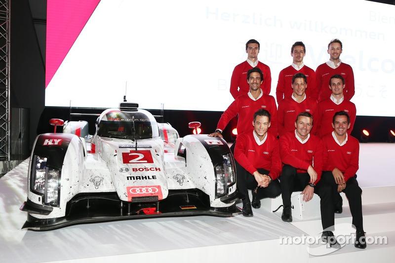 WEC LMP1 Audi Sport, piloti