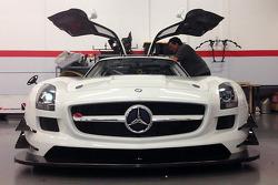 El nuevo DragonSpeed Mercedes SLS AMG GT4