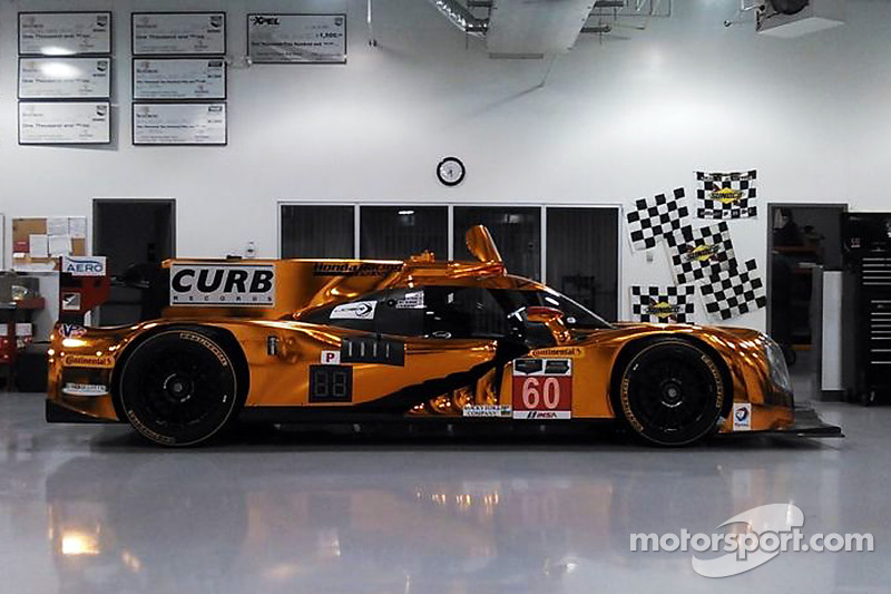 Ligier JS P2 本田,在Michael Shank车队的工作间