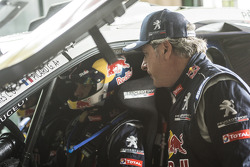 Carlos Sainz en Cyril Despres