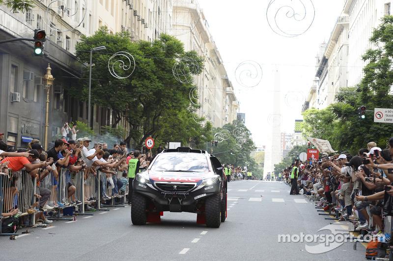 Peugeot di ceremonial start