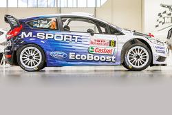 Das Design des M-Sport Ford Fiesta 2015