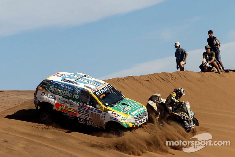 #316 Renault: Emiliano Spataro, Benjamin Lozada und #279 Can-Am: Lucas Innocente