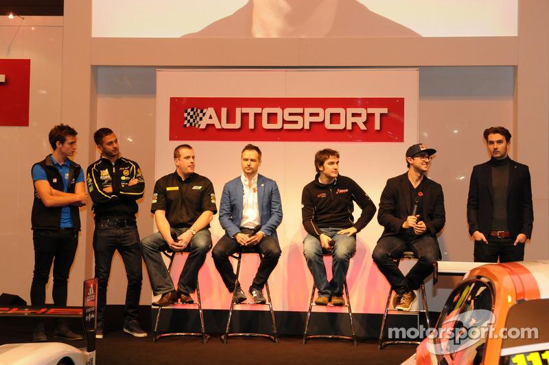 BTCC Stars di Autosport Stage