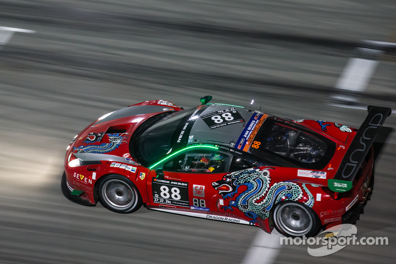 #88 Dragon Racing,法拉利458 Italia GT3: Mohammed Jawa, Jordan Grogor, Matt Griffin, Rob Barff