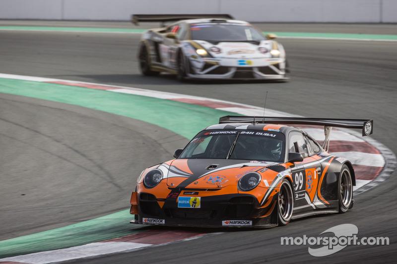 #99 Attempto Racing,保时捷997 GT3 R: Arkin Aka, Andreas Liehm, Bernd Kleinbach, Philipp Wlazik, Bill Barazetti