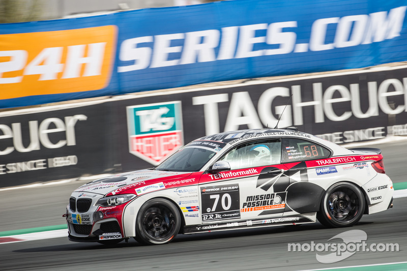 #70 Mission Possible By Sorg Rennsport BMW M235i Racing Cup: Gustav Engljähringer, Marc Dilger, Mike