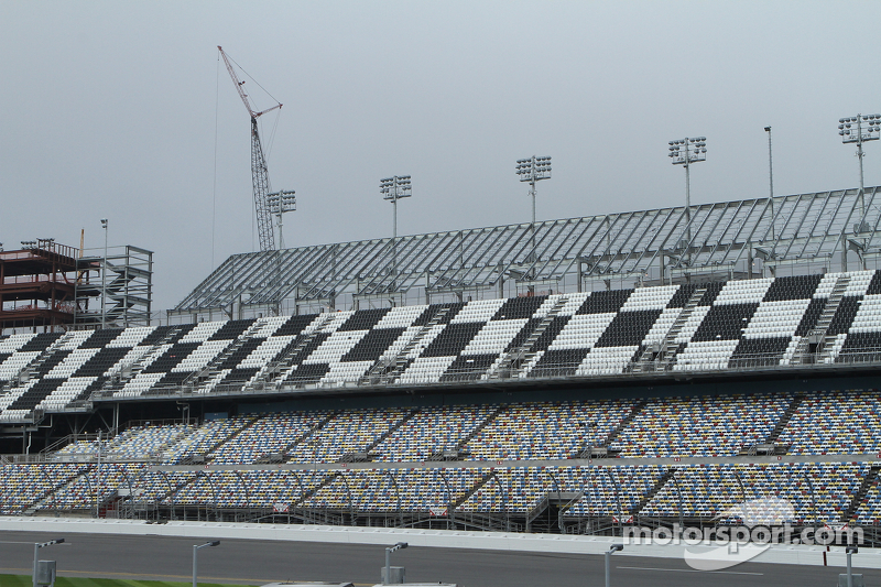 Pekerjaan konstruksi di Daytona