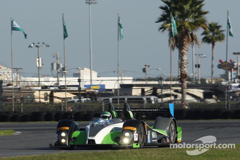 #61 BAR1 Motorsports Oreca FLM09: Martin Plowman, Marc Drumwright, Chapman Ducote, Cody Ware