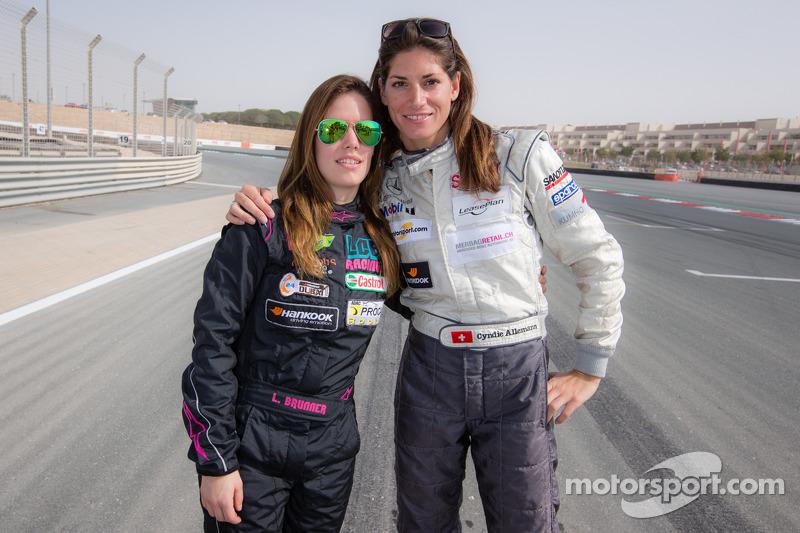 Lisa Brunner та Cyndie Allemann