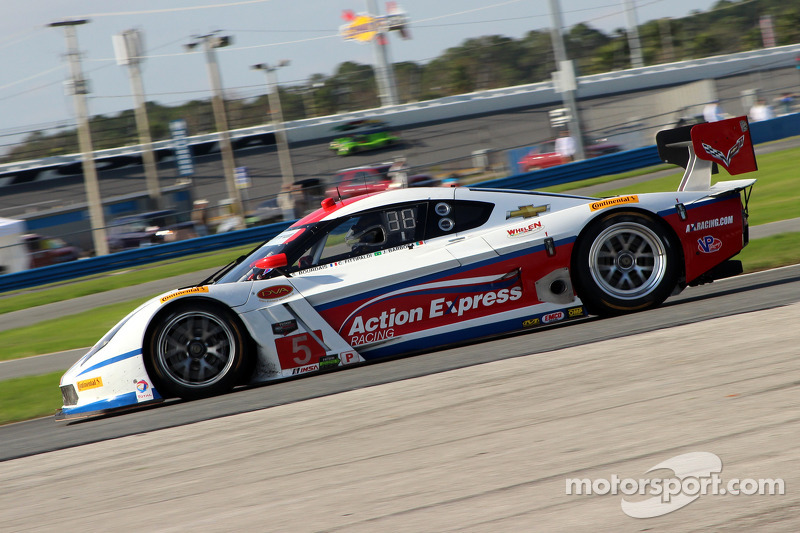 #5 Action Express Racing Corvette DP: Joao Barbosa, Christian Fittipaldi, Sébastien Bourdais