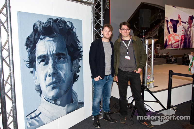 Ian Berry and Denimu Senna Portrait launch