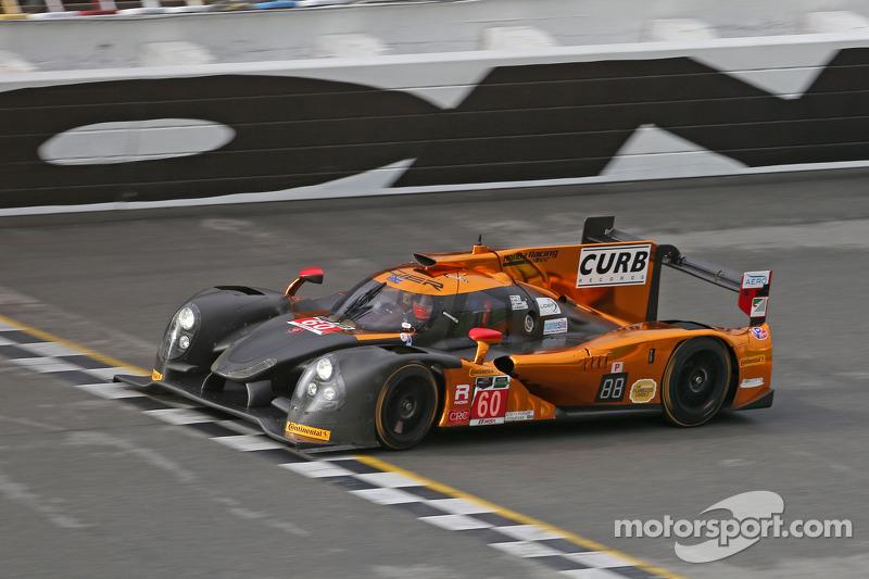 #60 Michael Shank Racing和Curb/Agajanian Ligier JS P2 本田: John Pew, Oswaldo Negri, A.J. Allmendinger,