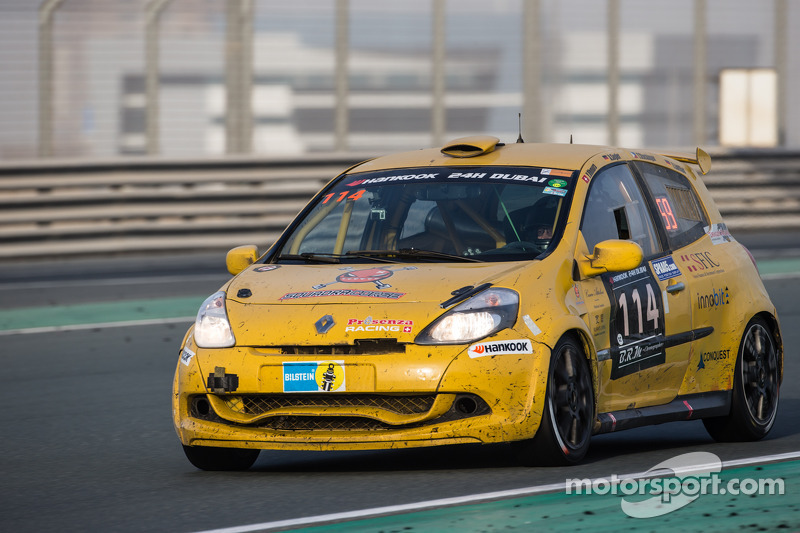 #114 presenza.eu Racing Team Clio, Renault Clio Cup Endurance: Yoshiki Ohmura, Andreas Segler, Thoma