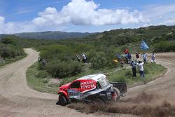 #303 Toyota: Giniel de Villiers, Dirk von Zitzewitz