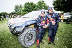 #322 Peugeot: Cyril Despres, Gilles Picard