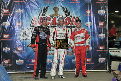 Bryan Clauson, Chad Boat and Daryn Pittman
