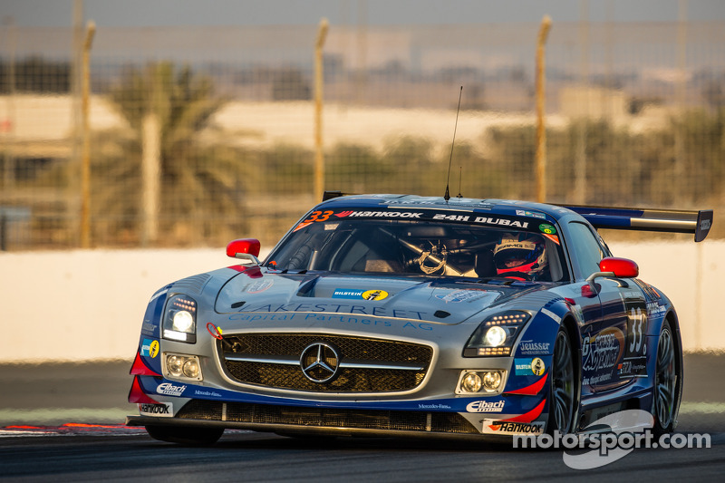 #33 SPS automotive-performance, Mercedes SLS AMG GT3: Valentin Pierburg, Lance David Arnold, Patrick Assenheimer, Alex Müller