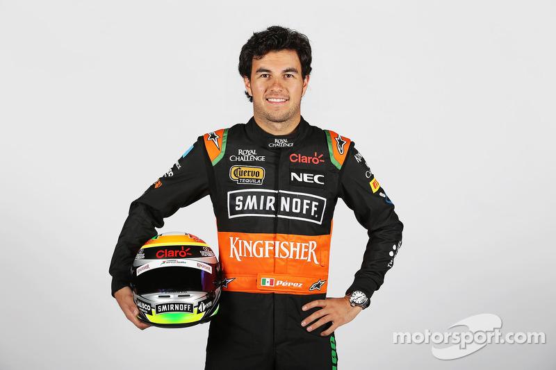 Sergio Perez (2015, 25 años)