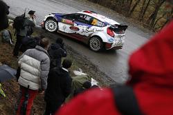 Bryan Bouffier et Xavier Panseri, Ford Fiesta WRC