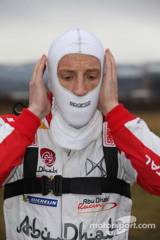 Kris Meeke, equipa Citroën Total de Abu Dhabi World Rally