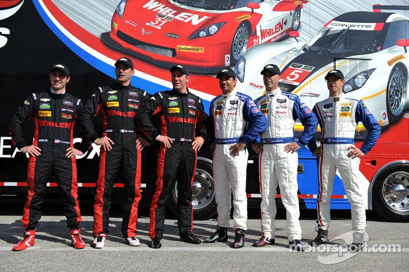 Action Express Racing piloti Dane Cameron, Max Papis, Eric Curran, Christian Fittipaldi, Joao Barbosa, Sébastien Bourdais