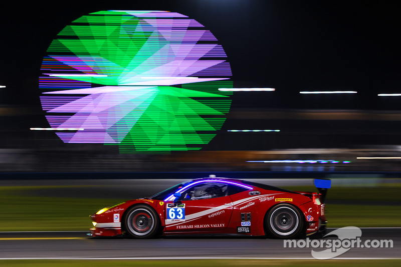 #63 Scuderia Corsa 法拉利458 Italia: Bill Sweedler, Townsend Bell, Anthony Lazzaro, Jeff Segal