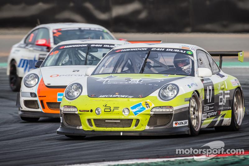 #47 B2F Compétition Porsche 997 Cup: Benoit Fretin, Bruno Fretin, Michel Mitieus, Gilles Petit