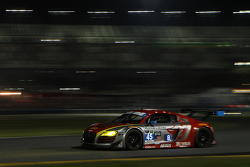 #45 Flying Lizard Motorsports,奥迪R8 LMS: Markus Winkelhock, Robert Thorne, Satoshi Hoshino, Tomonobu Fujii