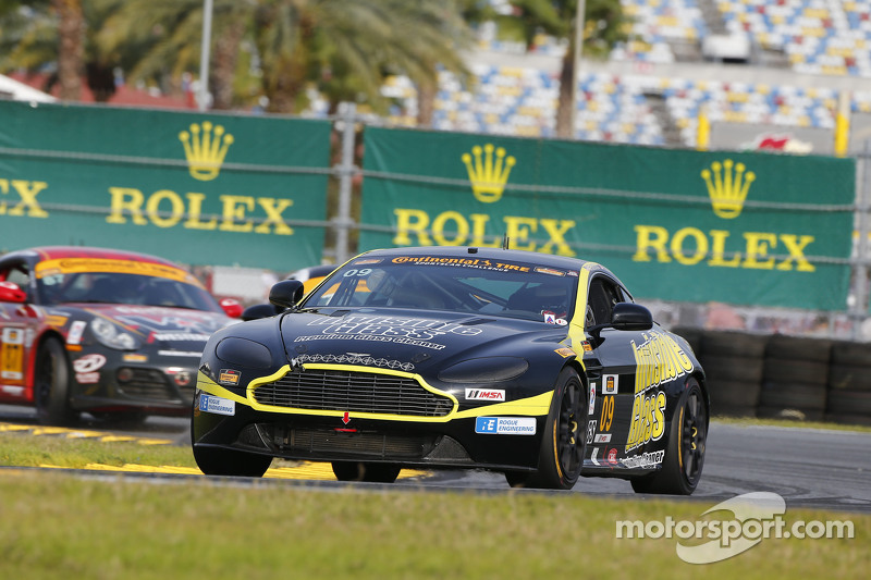#09 Automatic Racing, Aston Martin Vantage: Rod Randall, Ken Wilden