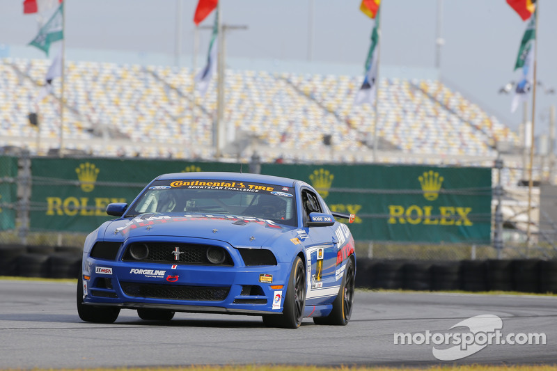 #2 Jim Click Racing Mustang Boss 302R: Mike McGovern, Jim Click