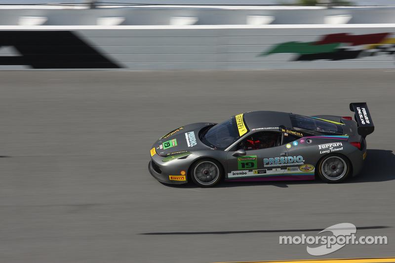 #19 Ferrari of Long Island, Ferrari 458: Chris Cagnazzi