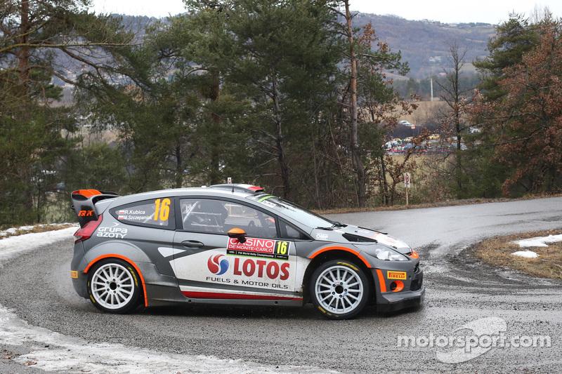 Robert Kubica und Maciek Szczepaniak, Ford Fiesta WRC