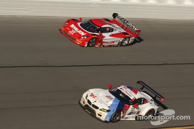 #31 Action Express Racing Corvette DP: Eric Curran, Dane Cameron, Max Papis, #25 BMW Team RLL BMW Z4