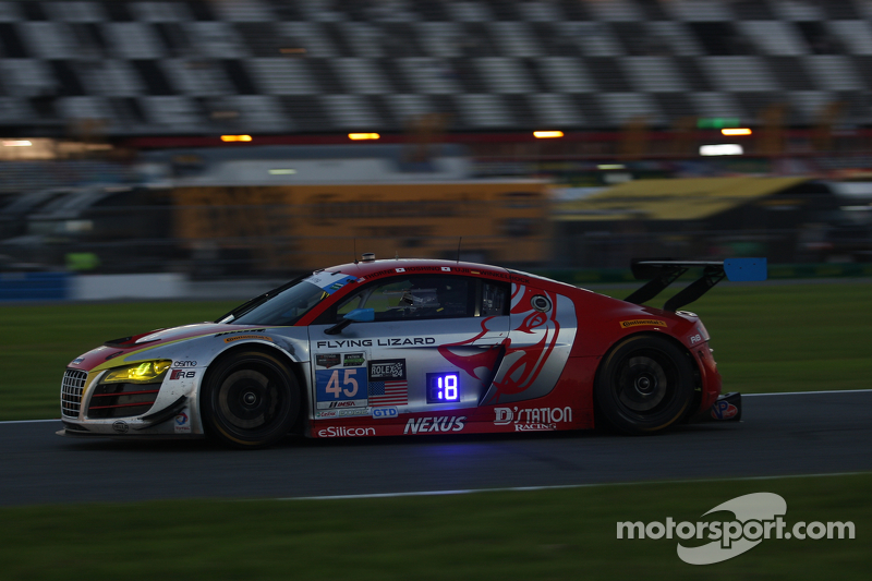 #45 Flying Lizard Motorsports Audi R8 LMS: Маркус Вінкелхок, Robert Thorne, Satoshi Hoshino, Tomonob