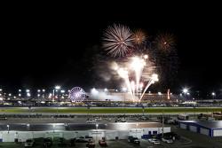 Feuerwerk am Daytona International Speedway