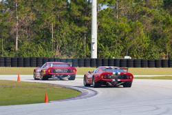 Ferrari 512BB/LMs on track