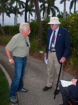 TV host Wayne Carini talks with Pebble Beach Chief Judge and Ferrari expert Ed Gilbertson