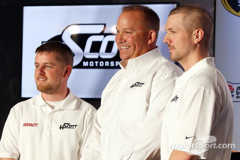 Justin Allgaier, Harry Scott, jr. und Michael Annett