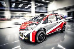 Toyota CS-R3 rally car
