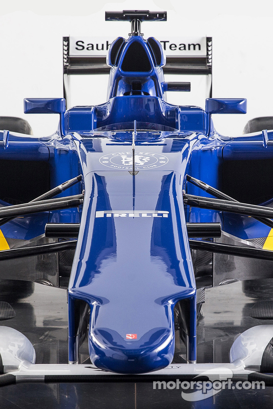 Detalhe da nova Sauber C34-Ferrari