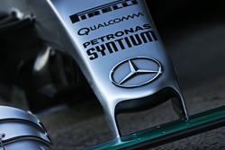 梅赛德斯AMG车队 F1 W06赛车鼻骨