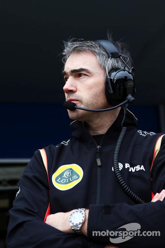 Nick Chester, diretor técnico da equipe Lotus F1