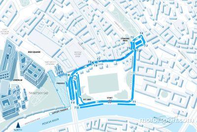 Formula E Moskova race duyurusu