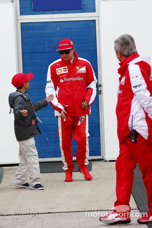 Kimi Raikkonen, da Ferrari