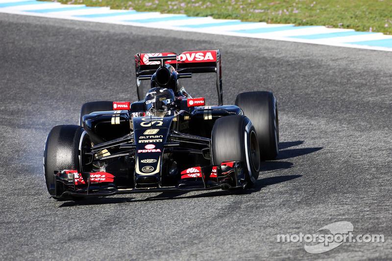 罗曼·格罗斯让, 路特斯 F1 E23