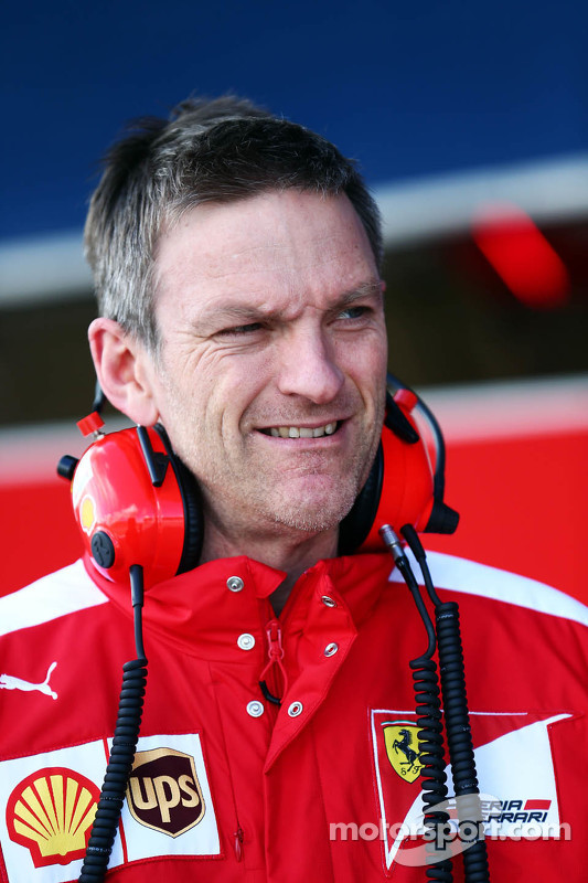 James Allison, Ferrari, Technischer Direktor Chassis