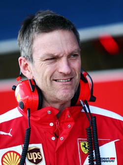 Джеймс Еллісон, Ferrari Технічний директор з шасі