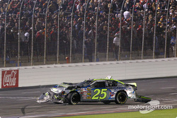 Brian Vickers in trouble