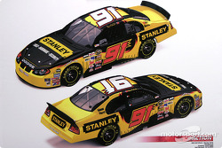 Evernham Motorsports press conference: rendering of Bill Elliott's #91 car with the Stanley sponsorship